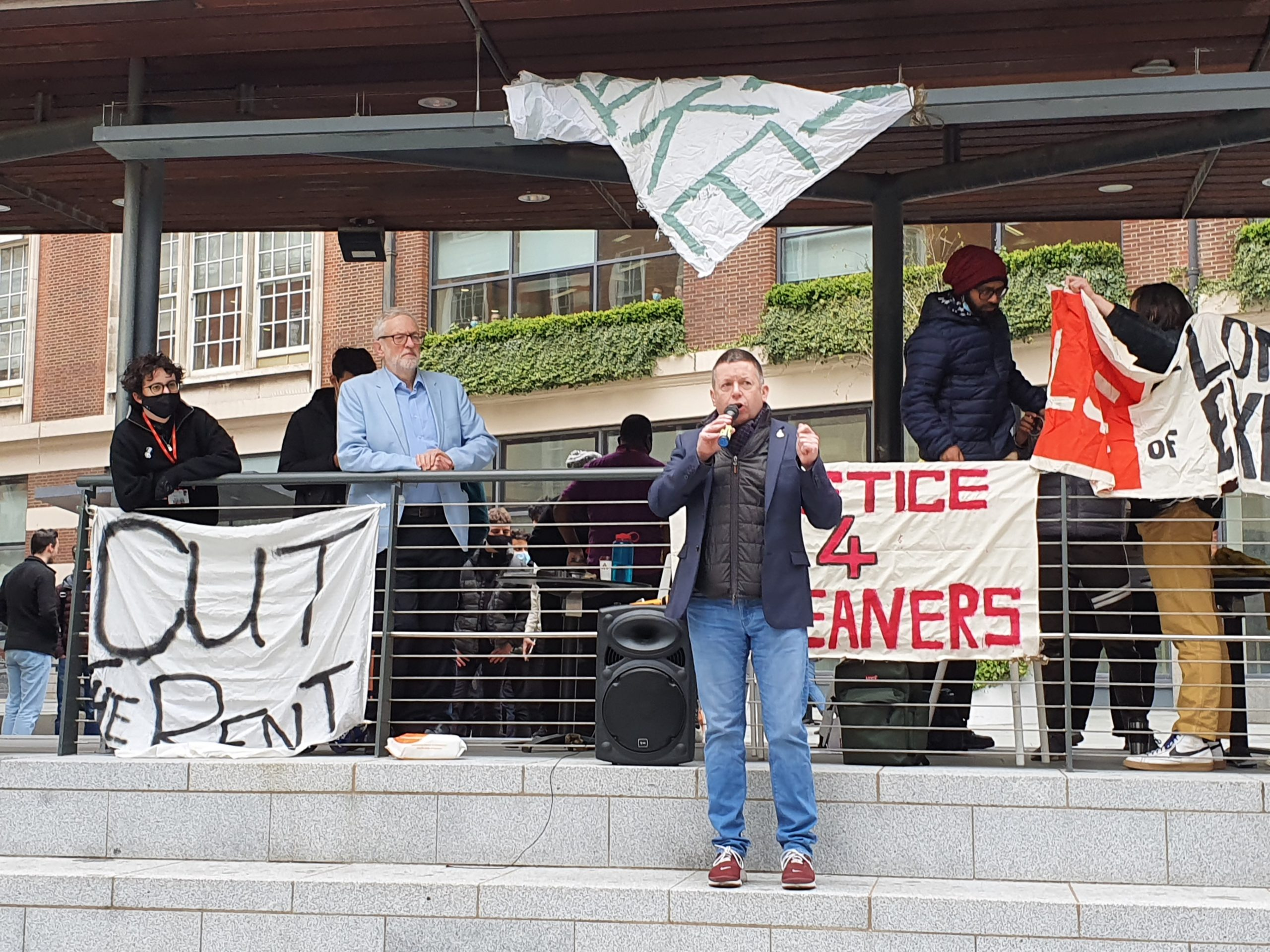 Fee Strike Rally features rhetorical heavyweights; Jeremy Corbyn
